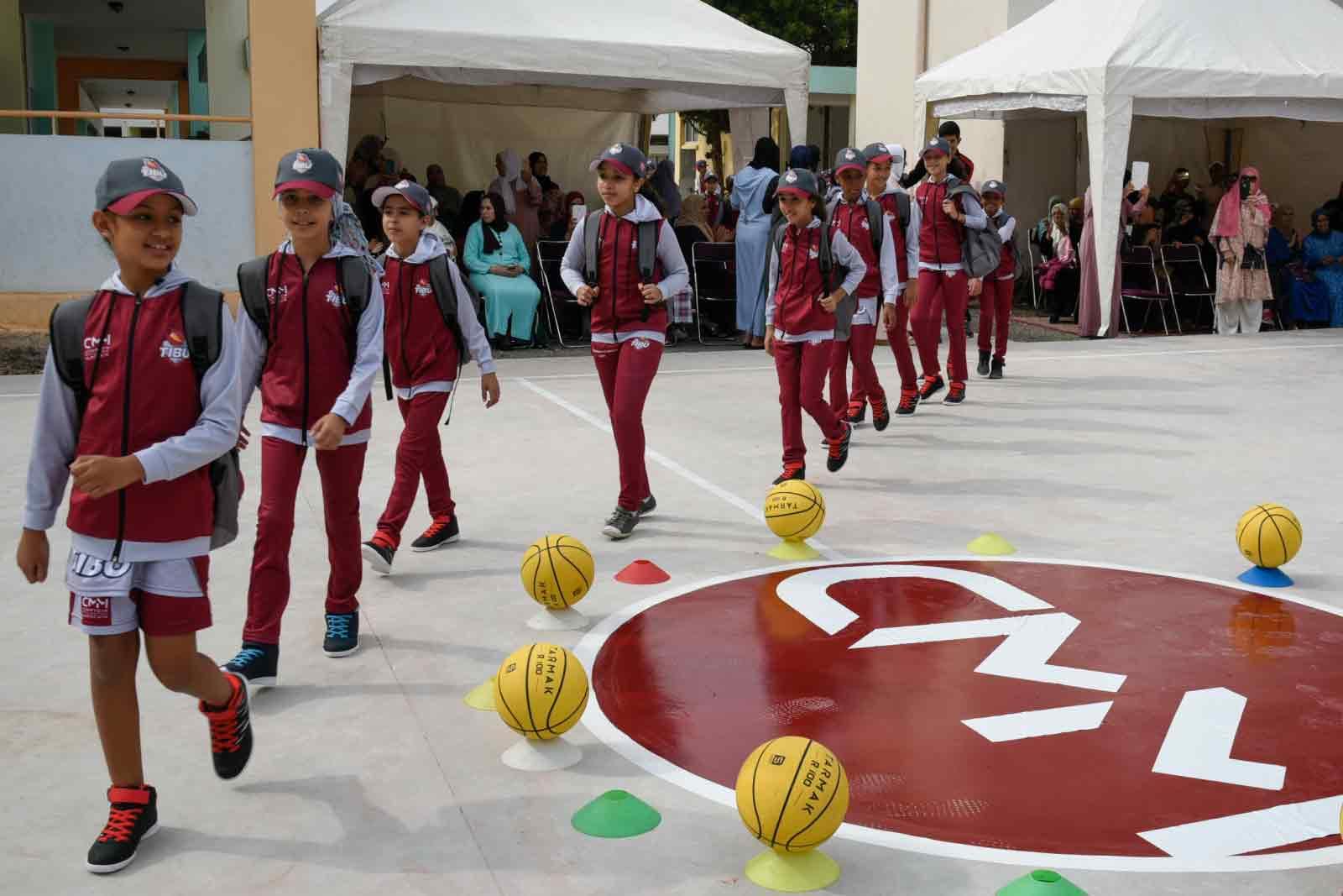 TIBU Centres d'éducation par le sport